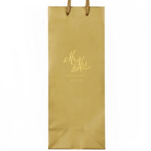 Mr And Mrs Wedding Bag