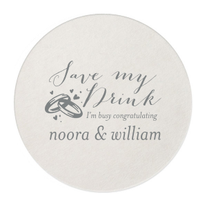 Save My Drink Coaster