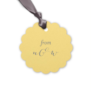 Initials Gift Tag