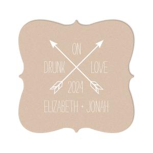 Arrow Monogram Coaster