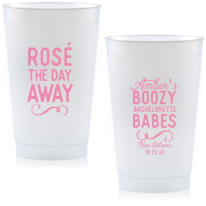 Rosé The Day Away Frost Flex Cup