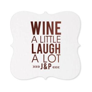 Wine A Little Coaster