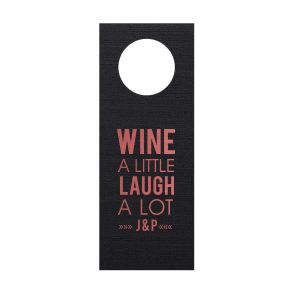 Modern Type Wine Tag