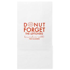 Donut Forget Bag