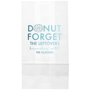 Donut Forget Bag