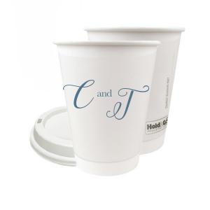 Elegant Initials Paper Cup
