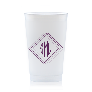 Angles Monogram Frost Flex Cup