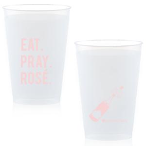 Eat. Pray. Rosé. Frost Flex Cup