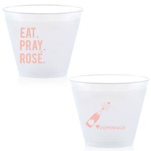 Eat. Pray. Rosé. Frost Flex Cup