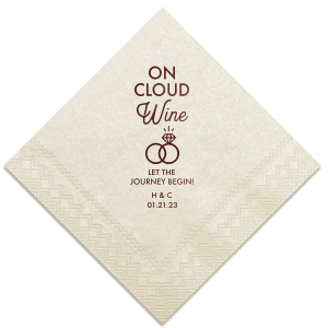 On Cloud Wine Napkin