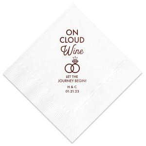 On Cloud Wine Napkin