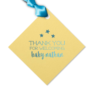Baby Shower Stars Tag
