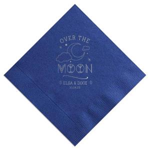 Over The Moon Napkin