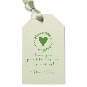 Leaf Wreath Gift Tag