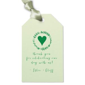Leaf Wreath Gift Tag