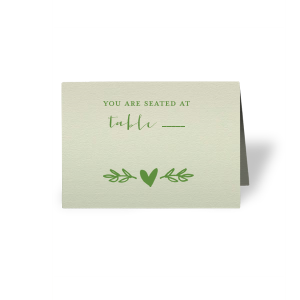 Heart Branch Place Card
