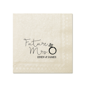Future Mrs. 2 Napkin