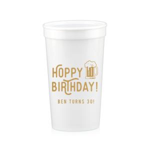 Hoppy Birthday Stadium Cup