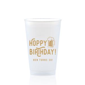 Hoppy Birthday Frost Flex Cup