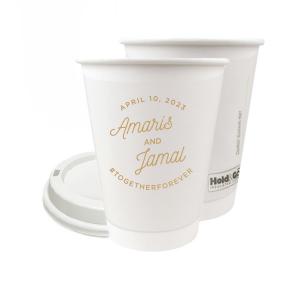Modern Script Name Paper Cup