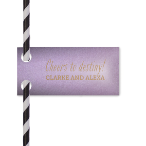Destiny Straw Tag