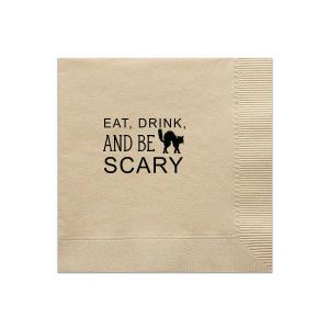 Be Scary Napkin