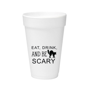 Be Scary Foam Cup