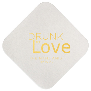 Drunk in Love Script Coaster