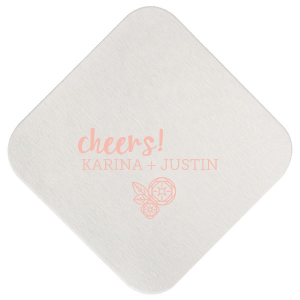 Cheers Flower Coaster