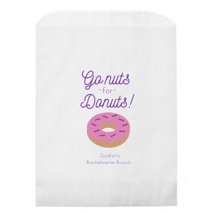 Go Donuts Photo/Full Color Party Bag