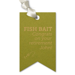 Fish Bait Tag