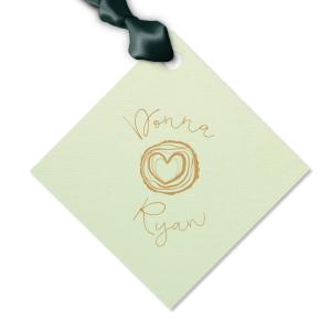 Tree Heart Gift Tag