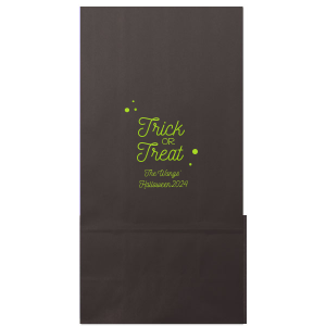 Trick Or Treat Dots Bag