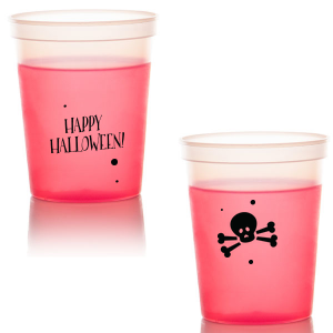 Happy Halloween Skull Stadium Cup