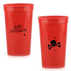 Happy Halloween Skull Stadium Cup