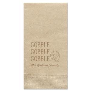 Gobble, Gobble, Gobble Napkin