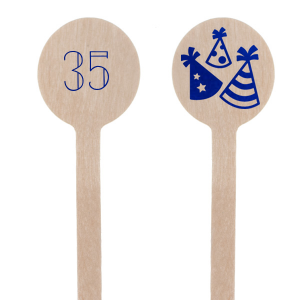 Birthday Party Hat Stir Stick