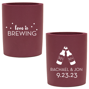 Love Is Brewing Can Cooler