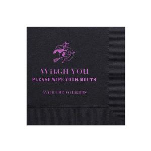 Witch Please Napkin