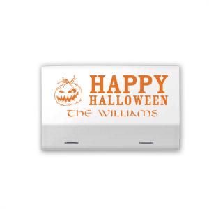 Halloween Jack-O-Lantern Match