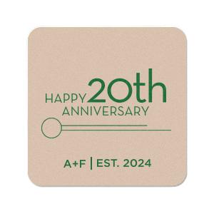 Anniversary Coaster