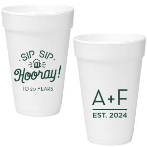 Sip Sip Hooray Cup
