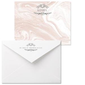 Leaf Frame Note Card with Envelope