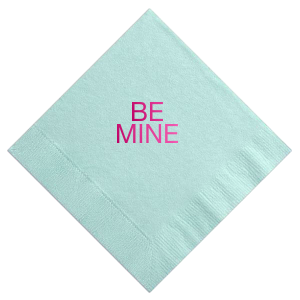 Be Mine Cocktail Napkin