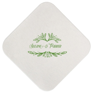 Rustic Leaf Coaster