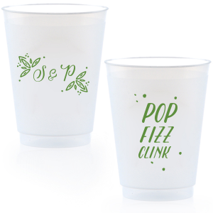 Rustic Leaf Frost Flex Cup