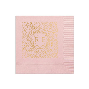 Linear Floral Napkin