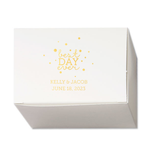 Best Day Ever Bubbles Cake Box