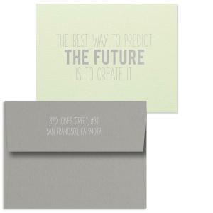 Create the Future Note Card