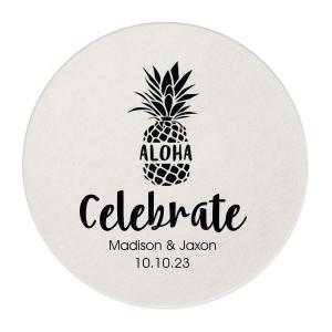 Aloha Pineapple Coaster